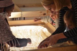 Мастер-класс по песочной анимации в Киеве