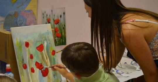 Курс «Живопись» для детей в октябре 2019